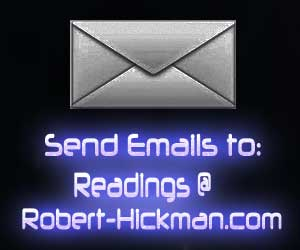 Email Psychic Bob at Readings@Robert-Hickman